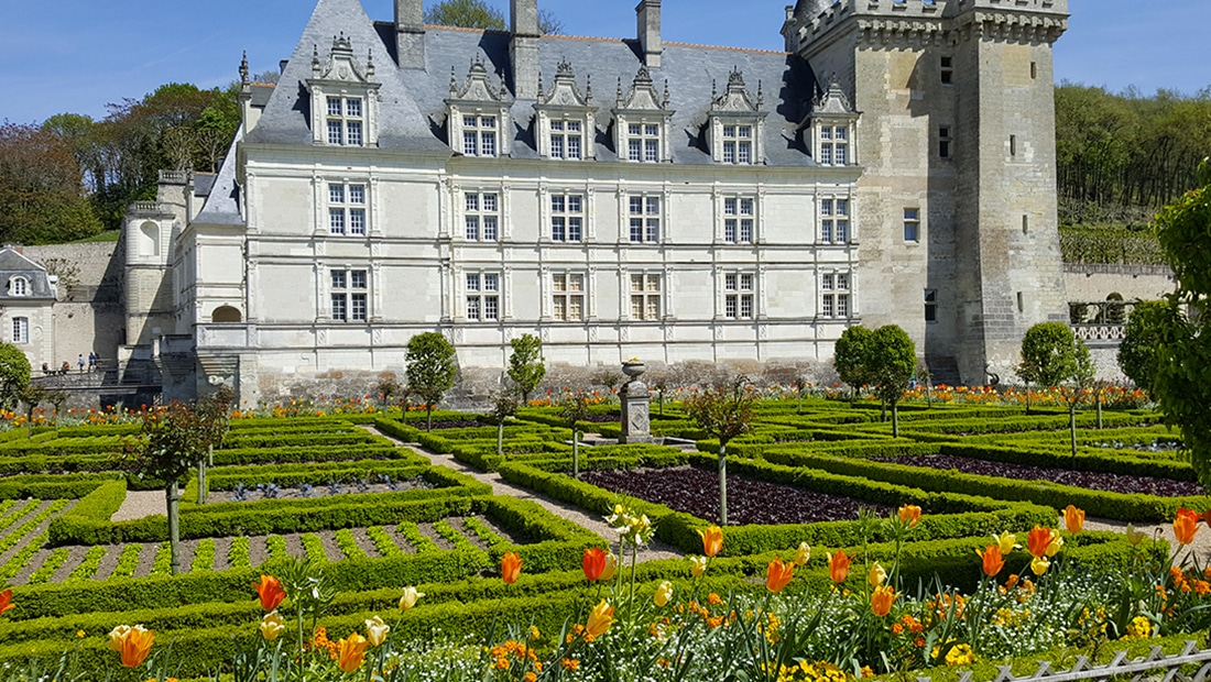 Jardin du chateau de Villandry